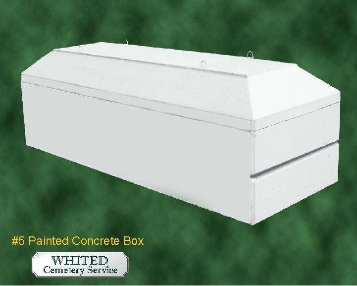 #5 Painted Concrete Box