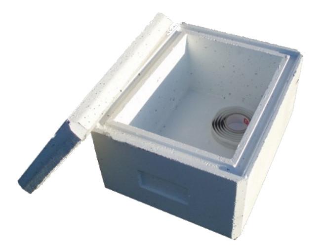 Standard White Urn Vault
